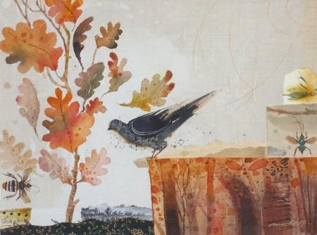 Garden Notes, Autumn, Oak