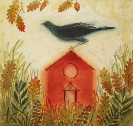 A Small Bird House