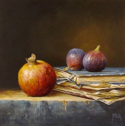 Pomegranate with Figs