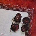 Four Festive Cherries