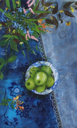 Apples and Agapanthus