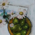 Pears and Daisies