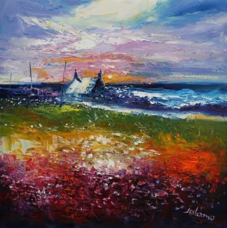 A Winter Sunset Westport Kintyre
