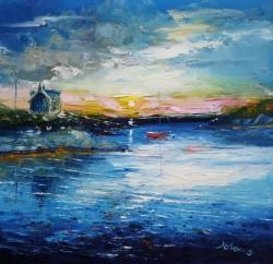 Early Morninglight at Earsary Isle of Barra