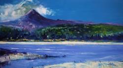Summerlight Goatfell Isle of Arran