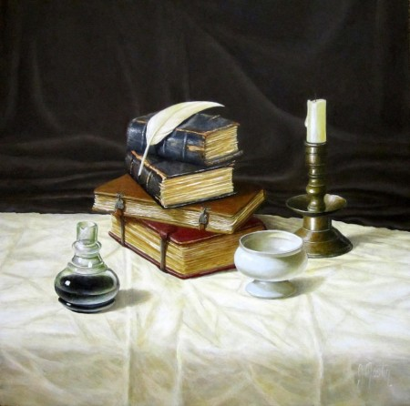 Books and a Quill