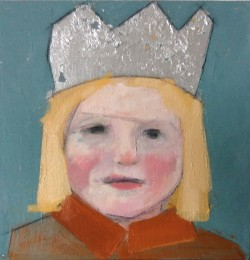 Girl With Silver Crown