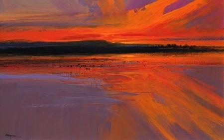 Estuary — Sunset