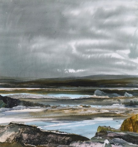 Soft Rain Falling on a Distant Shore, Sutherland
