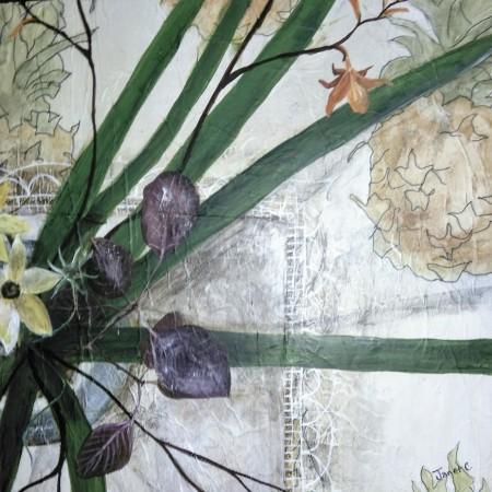 Pineapple Cloth iii - Cotinus