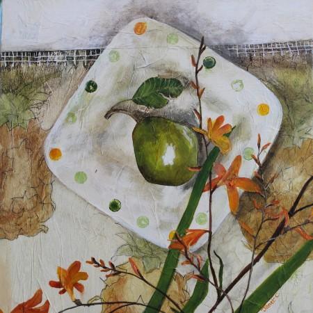 Pineapple Cloth i - Elisabeth's Plate
