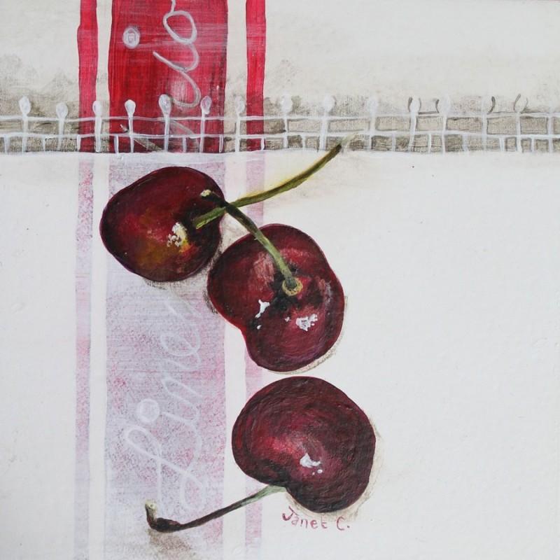 Cherries on Linen