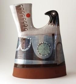 Dazzle Dove Vase