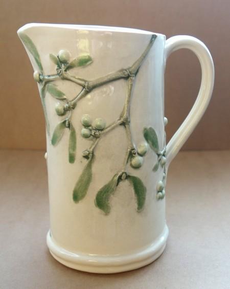 Medium Jug Mistletoe