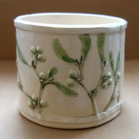 Jardiniere Mistletoe