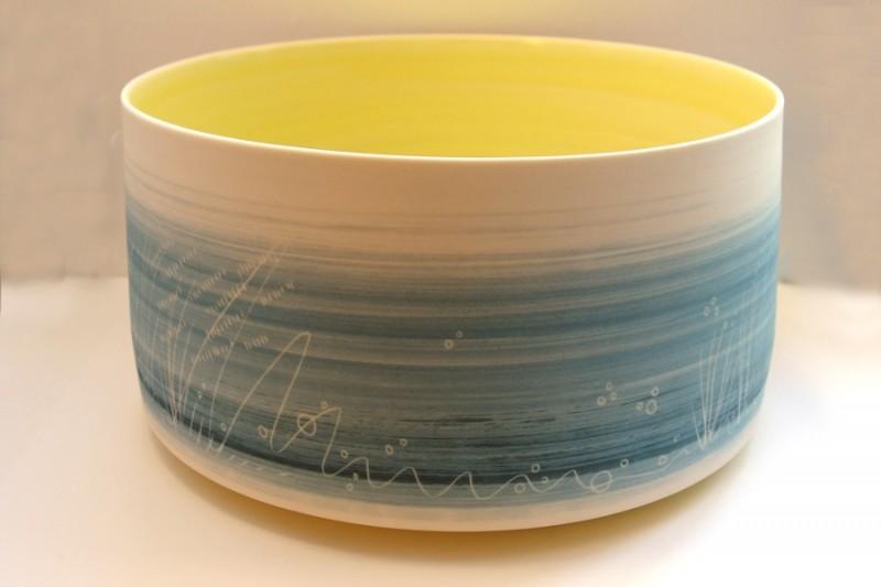 Large deep bowl