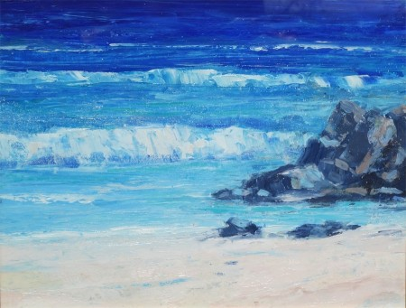 Rocks and Sea, Iona