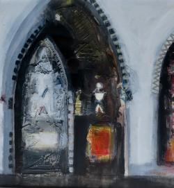 Side Altar, Spoleto by Scottish artist Charles MacQueen