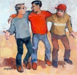 Catriona Campbell — Three Young Men