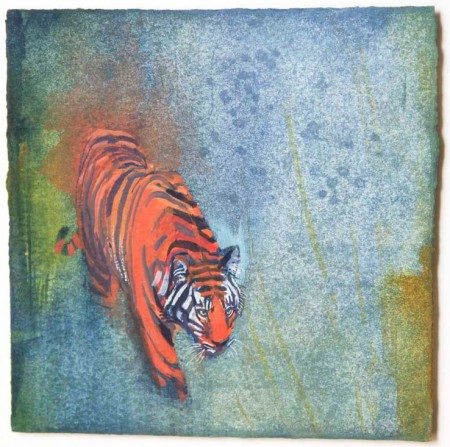 Tiger Trace i by Claire Harkess RSW