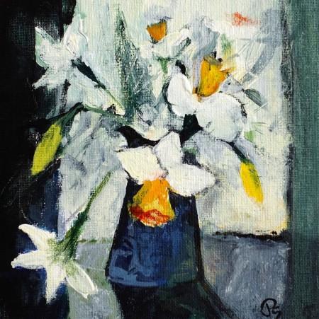 Narcissi by Patricia Sadler