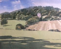 Craigievar, Late Summer by Donald Murray