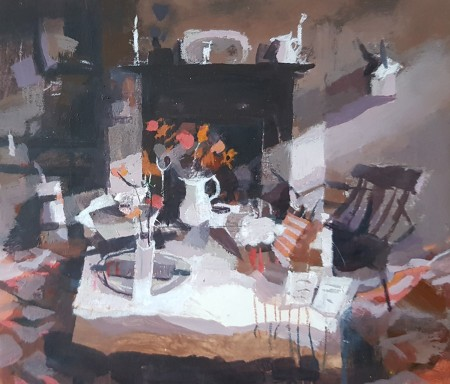 A Weaver's Kitchen by Hazel Nagl RSW RGI PAI