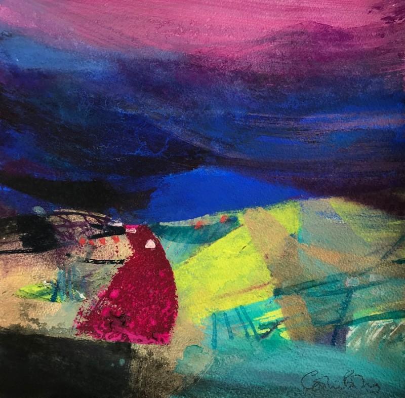 Ardtrek Fields by Caroline Bailey RSW