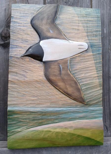 Little Auk Takes Flight by Kathryn O'Kell