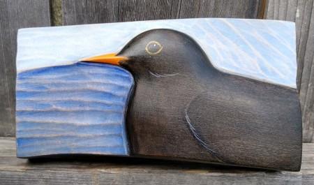 Blackbird — Blue Sky by Kathryn O'Kell