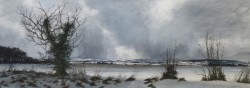 Winter Treeline, The Mearns by David E.Johnston