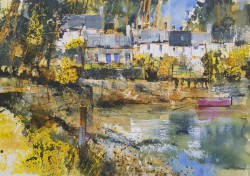 Quiet Cove, Plockton by Chris Forsey RI