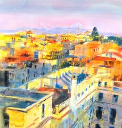 Golden Afternoon, Rome by Jenny Matthews