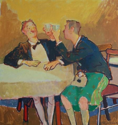Whisky Drinker by Tim Cockburn
