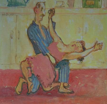 Kitchen Tango 2 by Tim Cockburn