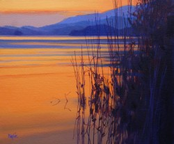 Menteith Gloaming  by Jim Wylie