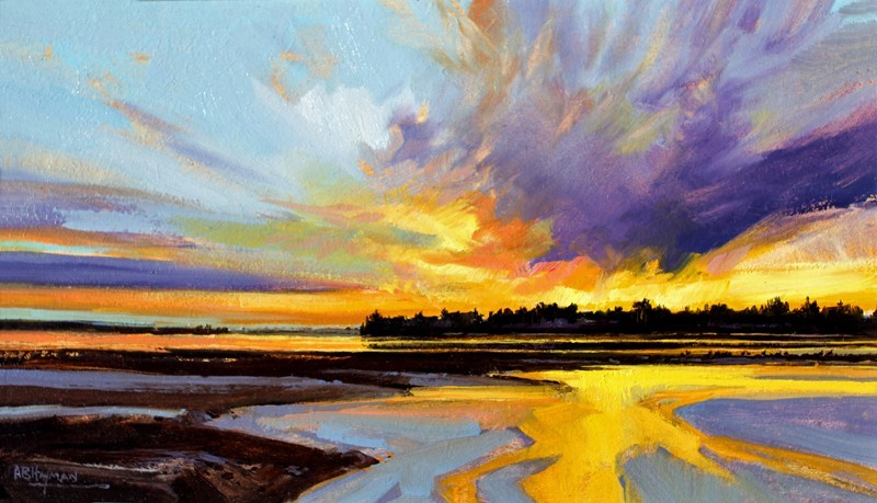 Findhorn Bay by Alan Hayman