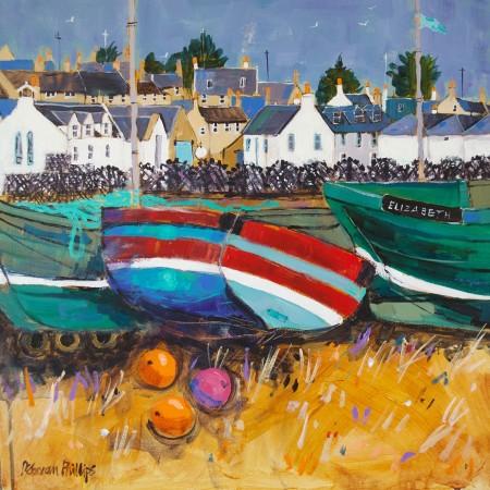 Boats and Creels, Johnshaven