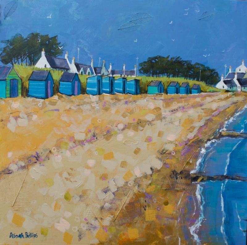 Breezy Beach Huts, Earlsferry