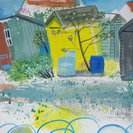 Yellow Shed and Blues