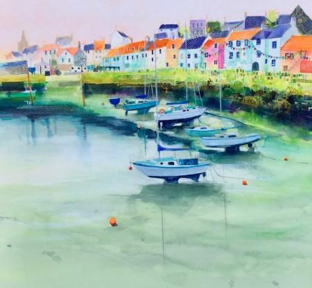 Harbour Bunting, St Monans
