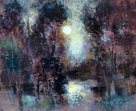 Early April Sunrise by Moira Ferrier RSW