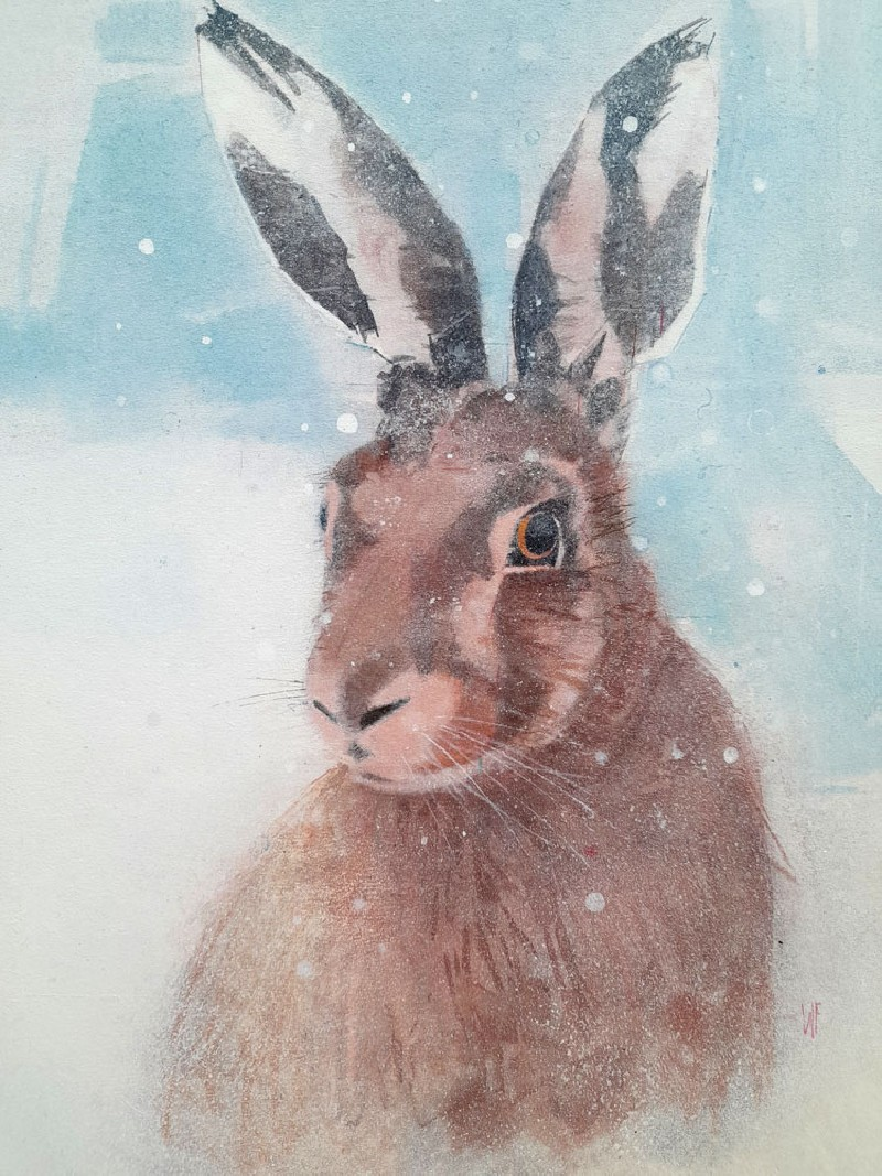 Magical Hare by Winifred Fergus