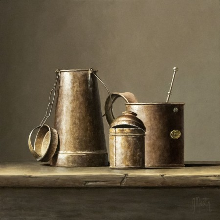 Old Tin Pots by Ian Mastin