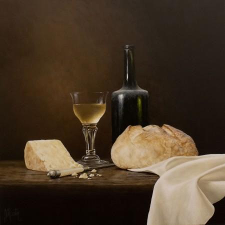 Bread, Wine and Cheese by Ian Mastin