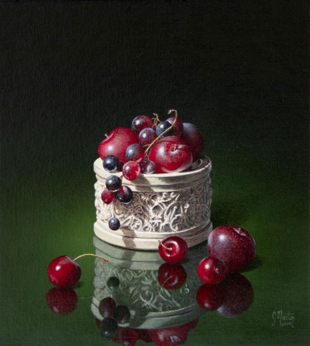 Soft Fruits and an Alabaster Box by Ian Mastin