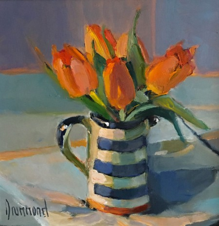 Sunshine Tulips by Marion Drummond