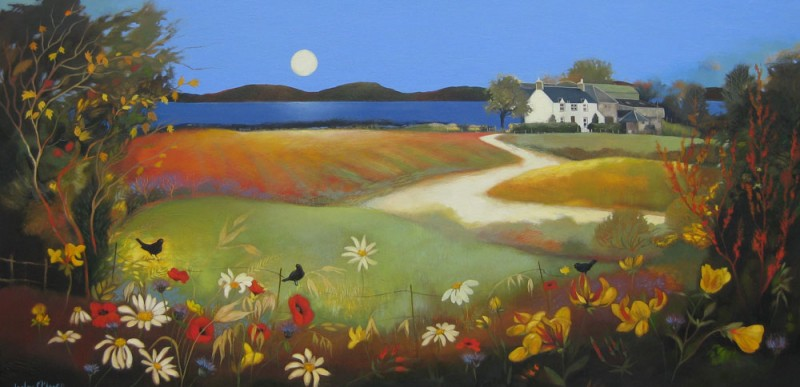 Harvest Sun by Lesley McLaren
