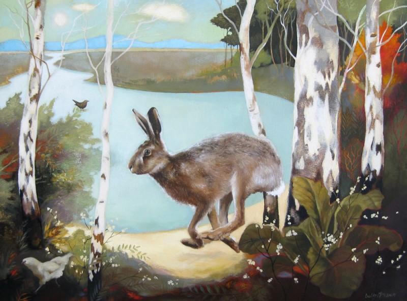 Farm Pond by Lesley McLaren
