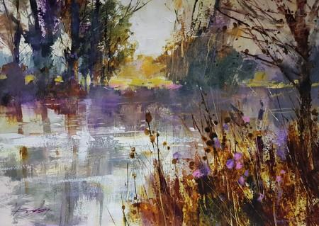Spring Awaits by Chris Forsey RI